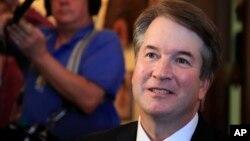 川普總統提名擔任美國最高法院大法官的卡瓦諾法官面臨阻撓提名獲得確認的努力