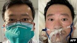 Dr. Li Wenliang, dokter China yang pertama kali memperingatkan bahaya Covid-19 dan akhirnya meninggal karena virus ini di rumah sakit di Wuhan (foto: ilustrasi).