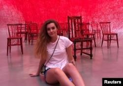 Arhiva - Studentkinja Sofija Sapega na fotografiji iz 2019. godine