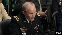 El general Martin Dempsey, jefe del estado Mayor Conjunto de las Fuerzas Armadas de EE.UU.
