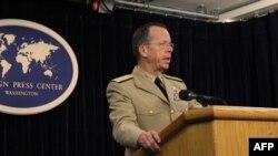 Tham mưu trưởng quân đội Hoa Kỳ Đô đốc Mike Mullen nói sẽ 'không ngăn cản được' Mỹ bay vào vùng không phận quốc tế gần Trung Quốc