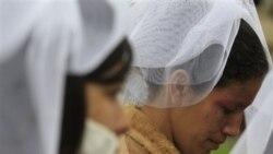 تجمع در پرو در اعتراض به خشونت علیه زنان
