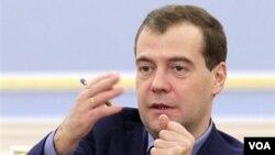 Presiden Rusia Dmitry Medvedev (foto: dok).
