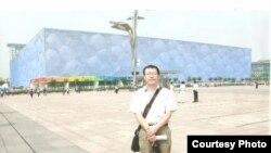四川绵阳民运人士李必丰(参与网图片)