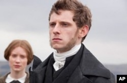 """Mia Wasikowska (left) and Jamie Bell (right) in """"Jane Eyre"""""""