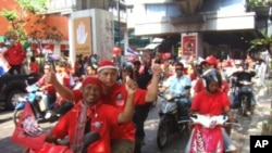 Anti-Government red shirt rally in Bangkok, Thailand, 20 Mar 2010