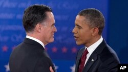 Ông Obama, Romney tranh luận lần hai tại New York