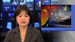 日本活动人士登钓鱼岛引起反响