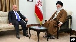 نخست وزیر عراق با رهبر جمهوری اسلامی روز پنجشنبه دیدار کرد.