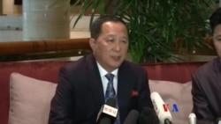 北韓任命新外相