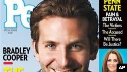 "Bradley Cooper พระเอกหนุ่มจาก ""The Hangover"" ได้รับเลือกเป็น Sexiest Man Alive"