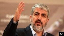 El líder de Hamas Khaled Mashaal es visto en esta foto de archivo del 28 de agosto de 2014.