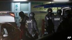Policija na mestu napada u Rajlovcu