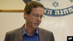 اسحاق هرتزوگ، رهبر ائتلاف «اتحاد صهیونیستی» در اسرائیل