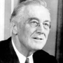 "Most people supported the ""New Deal"" policies of President Franklin Delano Roosevelt"