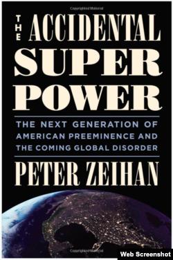 彼得·瑟汉:《偶然的超级大国》封面 (网络截图)