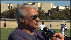 کفتگوی پیشکسوتان فوتبال با صدای آمریکا در حاشیه مسابقات جام دوستی