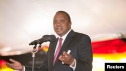 Rais-mteule Uhuru Kenyatta