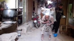 Aging Breadwinner Hauls More Than His Weight In Flour