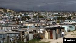 Thị trấn Khaelitsha có tỉ lệ tội phạm cao ở Cape Town, Nam Phi. (Reuters)