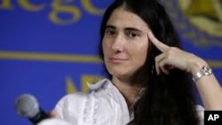 La bloguera cubana dice que nunca pensó que diría que Venezuela está peor que Cuba.