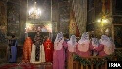 عکسی از کلیسای مسیحیان اصفهان