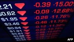 Dow Jones Toparladı; Avrupa'da Düşüş Devam Etti