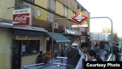 西班牙首都华人区乌塞拉一角。(网络图片)
