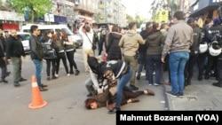 Diyarbakır protesto