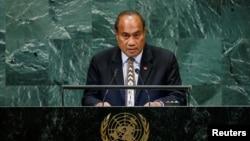 基里巴斯總統塔內蒂·馬茂。