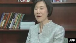 Bà Elaine Ho, một người Mỹ gốc Á, làm việc tại cơ quan Thuế Vụ Hoa Kỳ