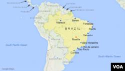 De nombreuses manifestations ont eu lieu vendredi soir à Rio et Sao Paulo pour soutenir la jeune fille.