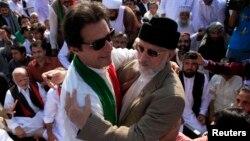 عمران خان اور طاہر القادری