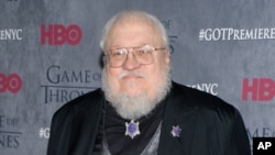 George R. R. Martin penulis serial fantasi populer Game of Thrones.