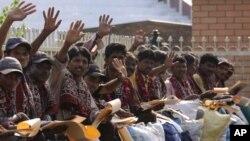 بھارتی قیدی رہائی کے بعد وطن واپسی کے منتظر(فائل فوٹو)