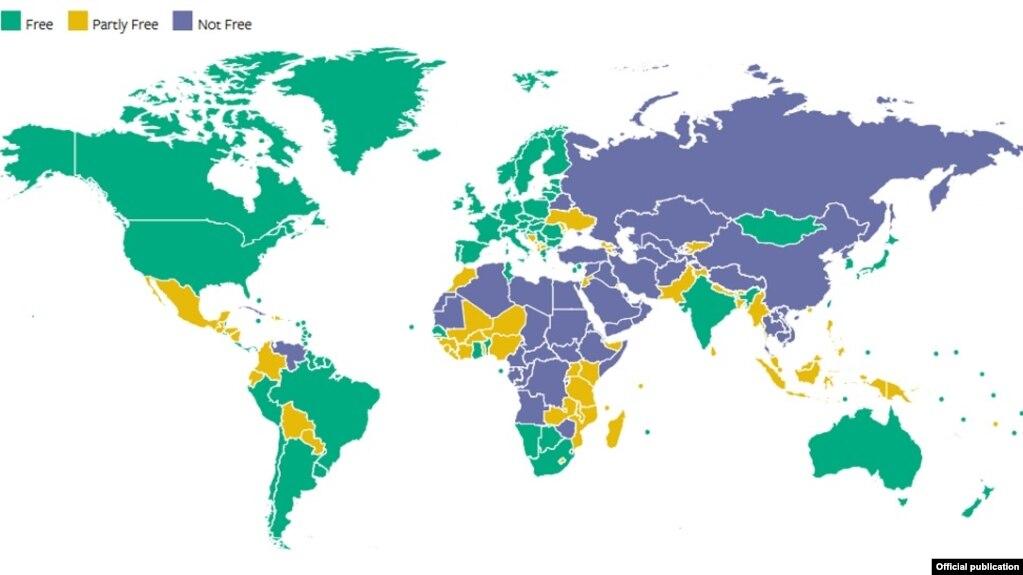 Niveli i lirisë në Shqipëri, i pandryshuar në raportin e Freedom House