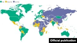 Liberdade no Mundo 2018