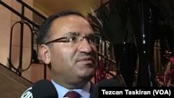 Menteri Kehakiman Turki Bekir Bozdag (Foto: dok.)