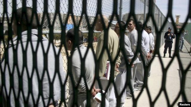 Una prisión mexicana en Tecate, Baja California. Varios penales, sobre todo en el norte de México, han registrado motines y peleas atribuidas a disputas entre grupos rivales del crimen organizado.