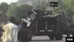 Tankin yakin Boko Haram.