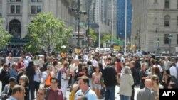 Эвакуация в Нью-Йорке