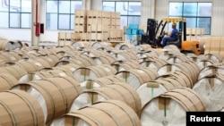 中國安徽一工廠。