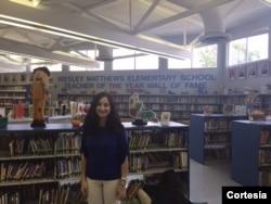 Zoe Morales, Wesley Mathews Elementary School, Miami FL