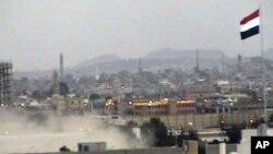 دارالحکومت صنعا کا ایک منظر (فائل فوٹو)