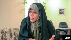 Hashemi Faezeh, putri mendiang Presiden Akbar Hashemi Rafsanjani (Foto: dok).