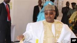 Seini Oumarou,chef de file d'opposition au Niger.