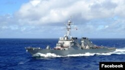 Khu trục hạm trang bị phi đạn điều hướng USS Curtis Wilbur (DDG 54).