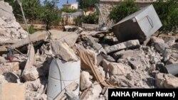 Topbaran Artêşa Tirk liser Efrînê