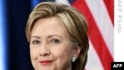 Dövlət katibi Klinton İranı təhlükəli siyasi kursu dəyişməyə çağırır