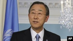 United Nations Secretary General Ban Ki-moon (file photo)